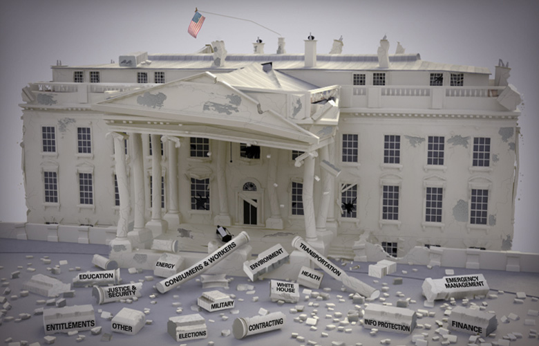 Image of broken government: an assessment of 128 executive branch failures since 2000