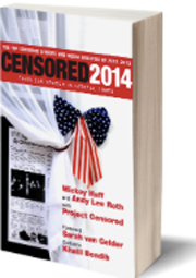 Cover image of Censored 2014 by Project Sensored