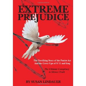 Cover image from Lindauer's book, Extreme Prejudice
