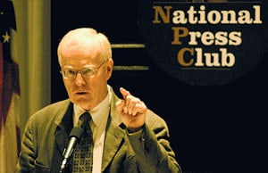 Dr. Griffin at the National Press Club