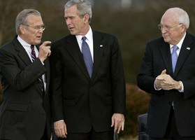 Bush, Cheney, Rumsfeld and 9/11
